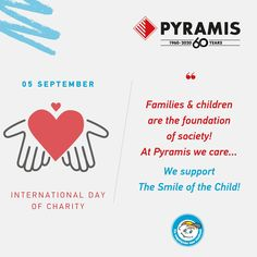 International Day of Charity, Pyramis supports The Smile of the Child! Oven And Hob, International Days, Cooker Hoods, Quality Kitchens, Charity, Child, Boys, Hoods, Kid