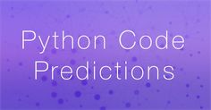 Python Code Suggestions Using a Long Short-Term Memory RNN This is a guest post by Daniël Heres a software engineer & Computing Science student. Want to contribute your own how-to post? Let us know contact us here.  An important tool for programmers is the code editor or an integrated development environment (IDE). @tachyeonz