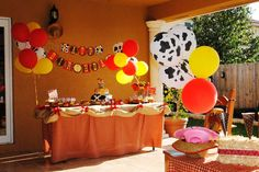 Jessie the Cowgirl Party | CatchMyParty.com