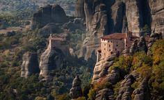 Monastery of St.Barbara, Meteora, Greece