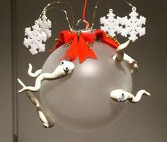 This would make a great gag gift for someone who is pregnant at Christmas!