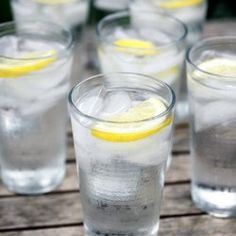 10 Health Benefits of Lemon Water-can't hurt to drink more water even if it's not all true :-)