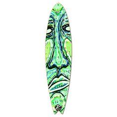 Fishtail Longboard Deck - Countdown