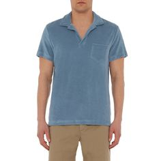 Terry - The Towelling Polo - Grey Steel