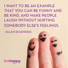 Live Happy Quotes | Ellen Degeneres