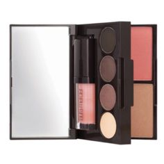 Laura Mercier LE Nude All-in-One Pallette Laura Mercier Limited Edition Nude All-in-One Pallette. Portable and great for everyday or build on for a more dramatic night-time look. Three shadows, tight-line eye liner, blush, bronzer, and lip gloss all in an ultra portable mirrored compact!  New without box. Laura Mercier Makeup