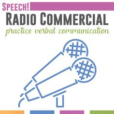 I begin every public speaking course by having students write and deliver a radio commercial. Students get to practice timing themselves, writing, and developing strong verbal communication skills. Specifically, students will create and write a radio Public Speaking Activities, Public Speaking Tips, Goal Setting Sheet, Verbal Communication Skills, Speech And Debate, Presentation Skills, Listening Skills, Teacher Hacks, Teacher Stuff