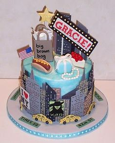 Image result for city cakes