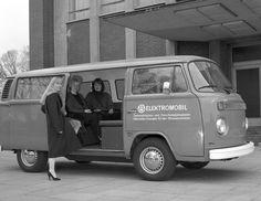 1973 Volkswagen T2 Electric drive vehicle   por Auto Clasico