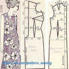 Выкройки, кройка и шитье для начинающих