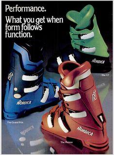 Ski Equipment, Vintage Ski, Ski Boots, Skiing, Snow, Sneakers, Sports, Nostalgia, Ski