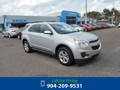 2015 Chevrolet Chevy Equinox LT w/1LT Call for Price  miles 904-209-9531 Transmission: Automatic  #Chevrolet #Equinox #used #cars #NimnichtChevrolet #Jacksonville #FL #tapcars