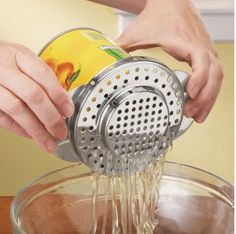 Stainless-Steel Can Strainer
