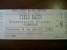 Cielo Razzo - Estadio Malvinas Argentinas