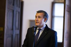 Prince Radu speaks about a hundred-year project, on behalf of the Royal Family of Romania, amongst political candidates for Presidency that only seek the next decade. (FOTO: Constantin Duma - Agerpres)