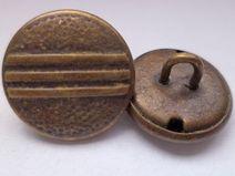 10 Metallknöpfe 15mm (2065-4) kleine Knöpfe Metall