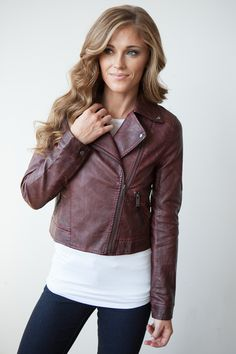 d336067f1 $59 Magnolia Boutique, Faux Leather Jackets, Fall Winter Outfits, Vest  Jacket, Cute