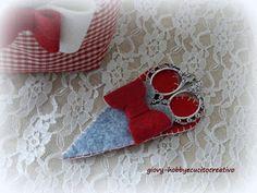 ❤ Giovy hobby e cucito creativo ❤ Porta forbici