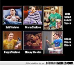 Sheldon of big bang theory