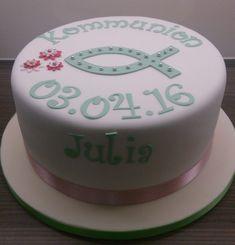 kommunion-fisch   Marions-Torten   Kommunion, Kommunion torte, Torte konfirmation Dessert, Cooking Timer, Cake Pops, Amazing Photography, Grass Stains, Remedies, Anna, Tips, Baby