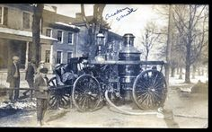 old steam engines   Steam Fire Engine at the Academy Fire in Cambridge   Old Delmarva ...