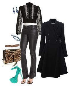 """""""52-3-3"""" by afashionpage on Polyvore featuring RtA, River Island, Betsey Johnson, CZ by Kenneth Jay Lane and Givenchy"""