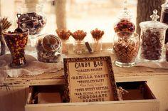 Candy bar | Wedding shower/ Wedding ideas | Pinterest