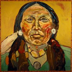 indian portrait by ira yeager