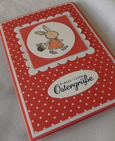 Osterkarte von Liebe Grüsse auf DaWanda.com