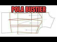 POLA BUSTIER/ KAMISOL - YouTube