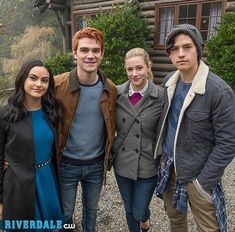Core 4 still going strong! #riverdale