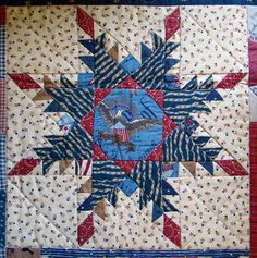 Feathered Star Quilt - Free Pattern - I Love Patchwork