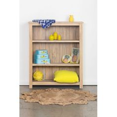 Incy Interiors Driftwood Bookcase - Jake