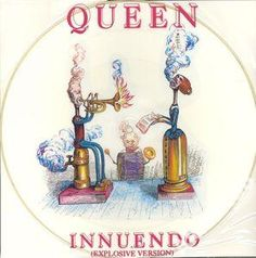 QUEEN -  INNUENDO - PICTURE DISC   UK 12
