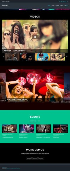 Event is a bold, fluid, and responsive WordPress theme designed for music, event, and entertainment sites. This theme comes with three custom post types Entertainment Sites, Entertainment Center Makeover, Wordpress Theme Design, Premium Wordpress Themes, Healthy Cat Treats, Themes Themes, Entertaining, Music, Website