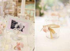 An Elegant Pink & Green Wedding