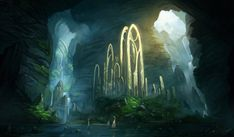 Forgotten Ruins -or- a sacred retreat -or- a secret portal to another world