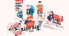 Năm Vị - Bộ nhận diện thương hiệu mang đậm nét Việt Nam - iDesign | Kiến Thức Chuyên Sâu Về Thiết Kế