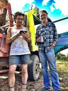 Hamster ( Richard Hammond ) and captain slow (James May )
