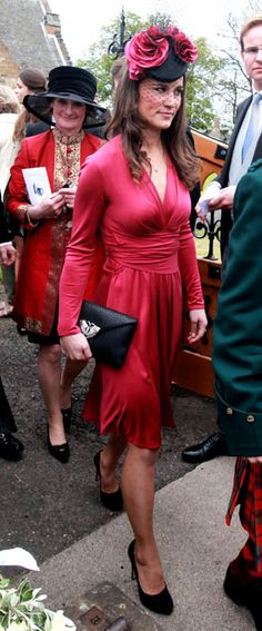Pippa Middleton in an Issa dress