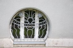 Secession in Budapest - the Körössy Villa. Built by architect Albert Kálmán Körössy for his family in The style of the building is mixture of French-Belgian art noveau and early Jugendstil. Budapest Hungary, Needful Things, Art Nouveau, Villa, Windows, Mirror, Architecture, Building, Houses
