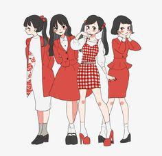 Keep A Sketchbook And Have Fun - Drawing On Demand Kunstjournal Inspiration, Character Design Inspiration, Cute Art Styles, Cartoon Art Styles, Fashion Design Drawings, Fashion Sketches, Arte Indie, Friend Anime, Anime Kawaii