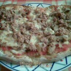 Pizza de Atun y Champiñones