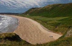 Gower, Wales -  Rossili beach / shutterstock