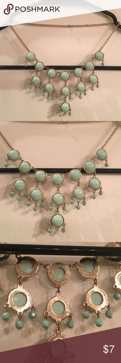 Mint necklace Mint green stylish necklace Nordstrom Jewelry Necklaces