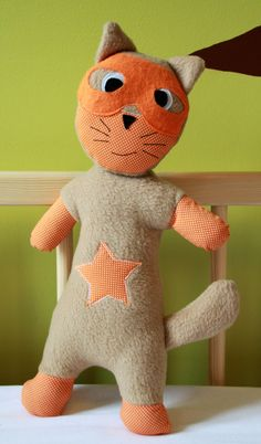 tuto gratuit super héros doudou  - super cat rétro