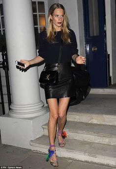 Poppy Delevingne (in Jimmy Choo sandals) - In London. (September 2014) 670f59e4630