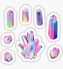 Crystals Sticker
