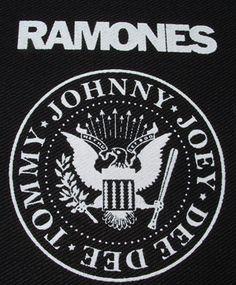Ramones ''Eagle'' Patch $1.45 #punk #music #punkpatches #clothing www.drstrange.com