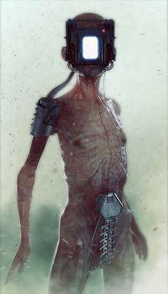Empty human.